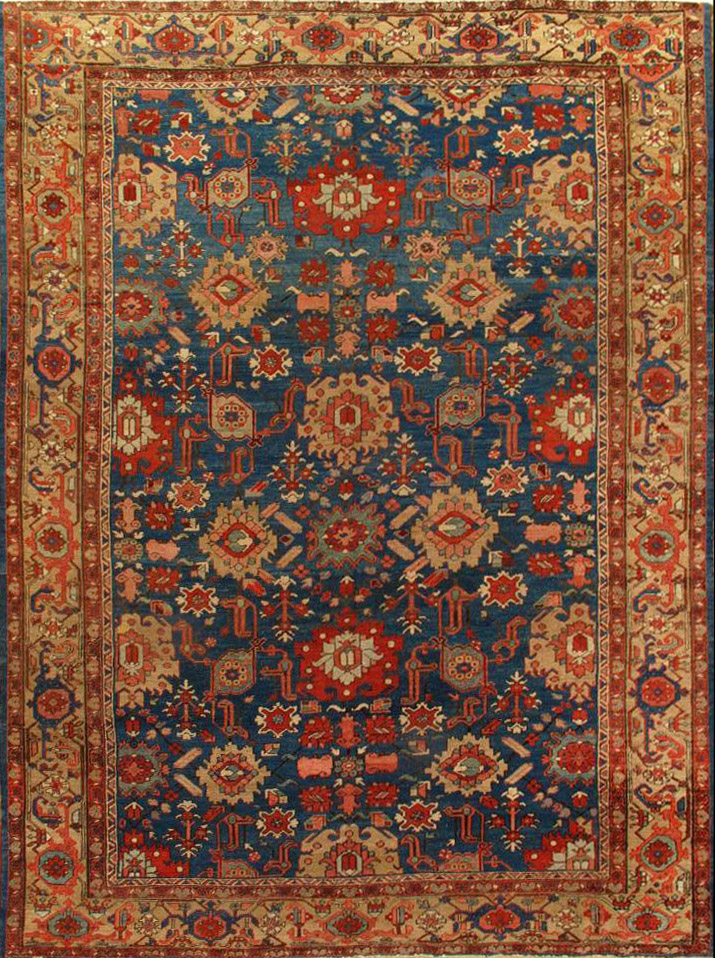 Antique Bakshaish Carpet 201227 First Rugs Rugs