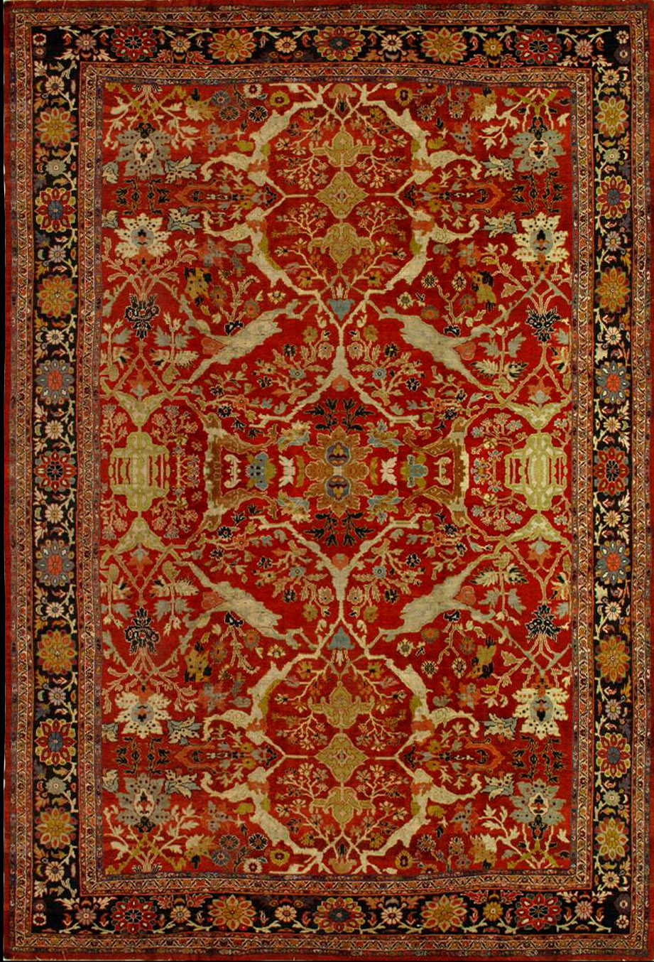 Antique Sultanabad Rug 981020 First Rugs Rugs