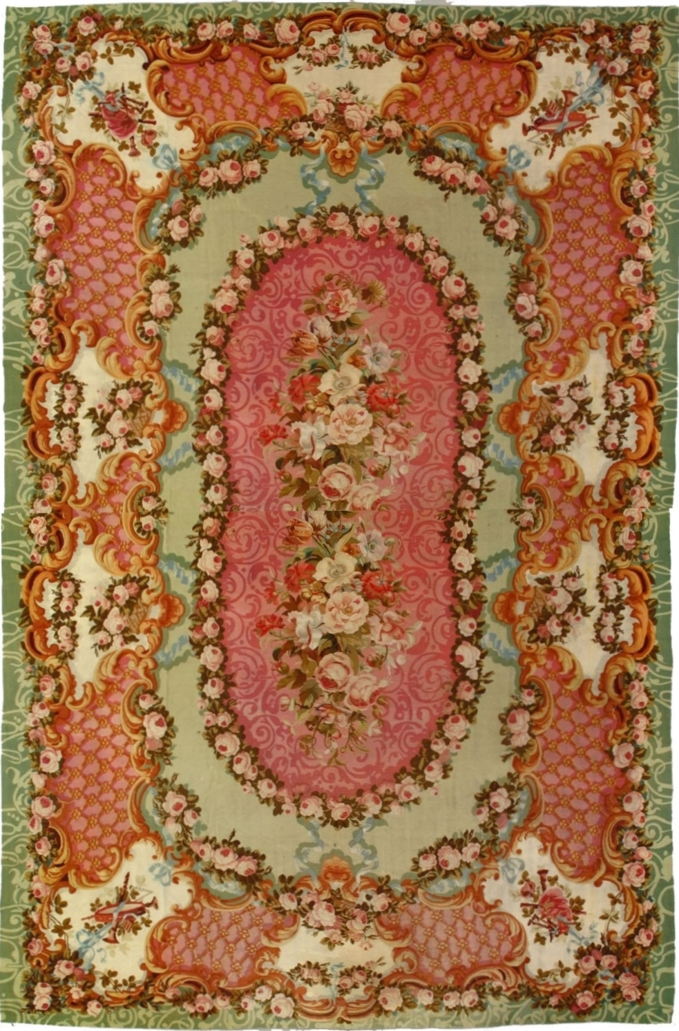 Aubusson Rug 2617 First Rugs Rugs Antique Rugs