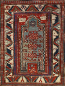 Kazak Rug-250601 • Available Sizes: 3.6 x 4.4