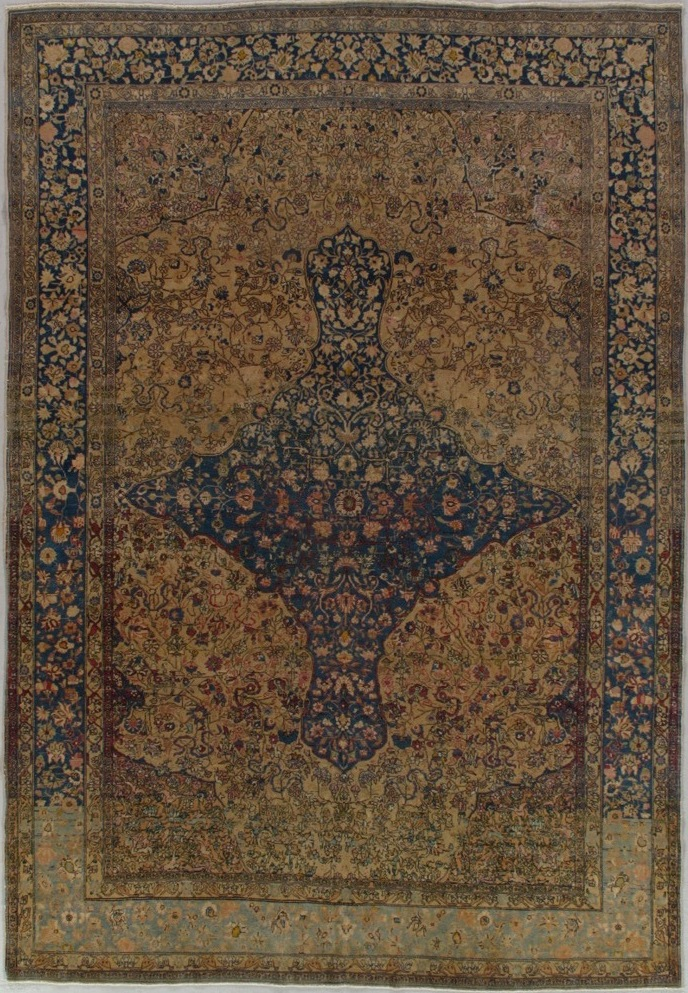 Antique Tehran Rug 200826 First Rugs Rugs Antique Rugs