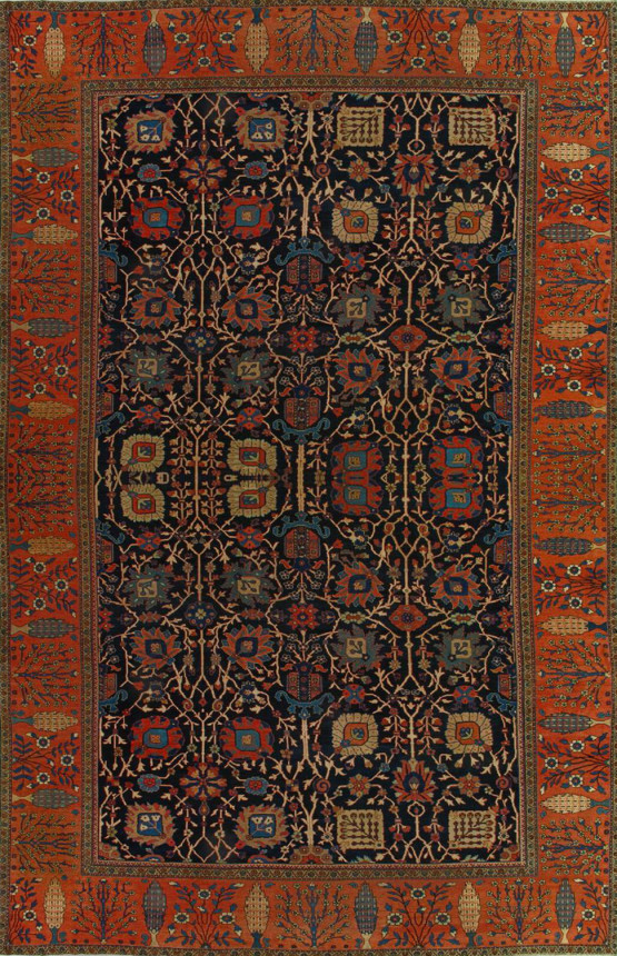 Antique Sultanabad Rug 251214 First Rugs Rugs