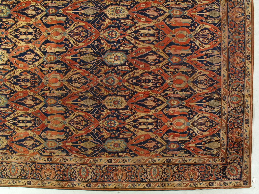 Antique Agra Carpet 100207 First Rugs Rugs Antique