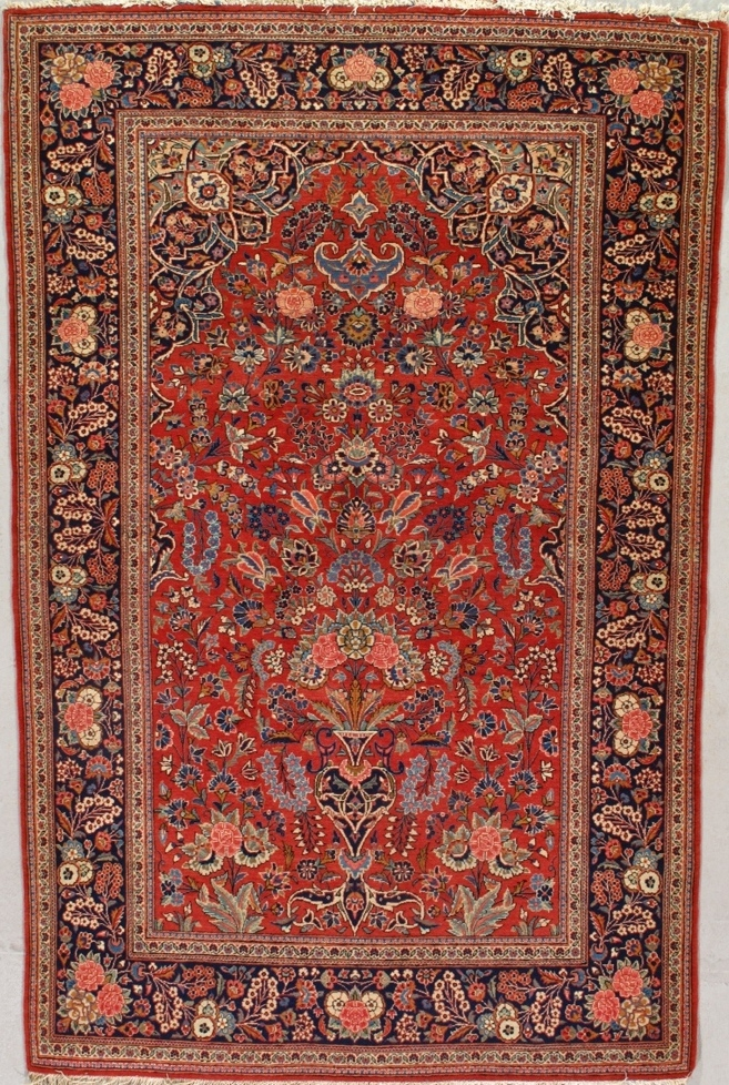 Kashan Rug 463f First Rugs Rugs Antique Rugs
