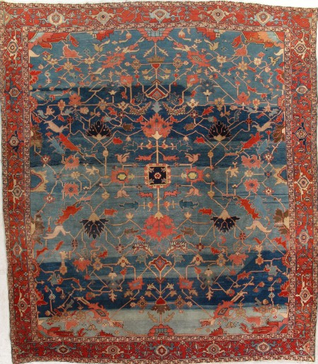 Antique Serapi Rug 150609 First Rugs Rugs Antique Rugs