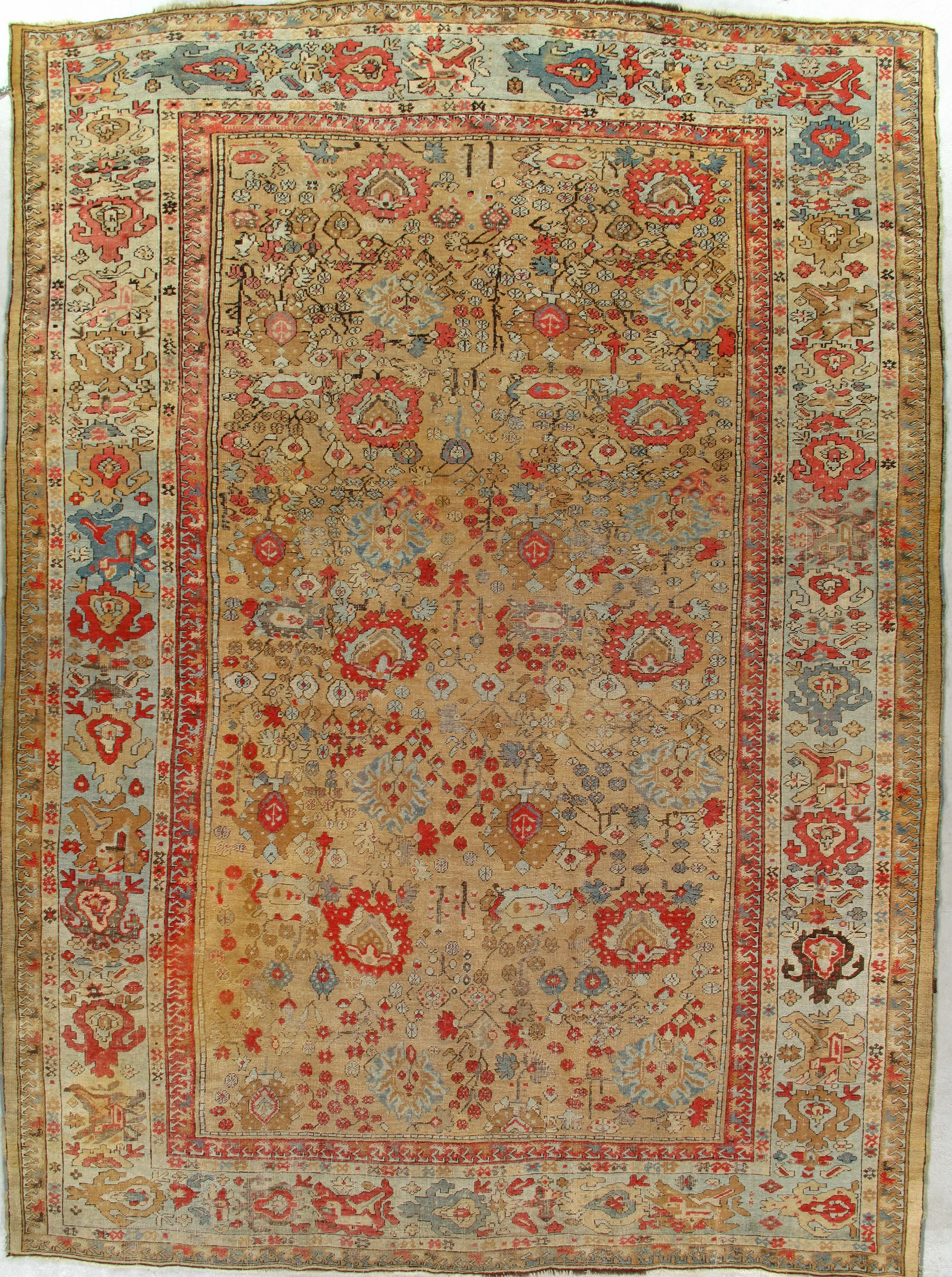 Antique Oushak Rug 201530 First Rugs Rugs Antique Rugs