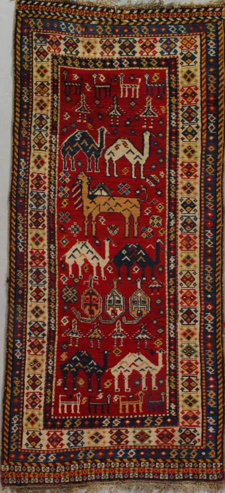 Antique Gabbeh Runner 6538 First Rugs Rugs Antique